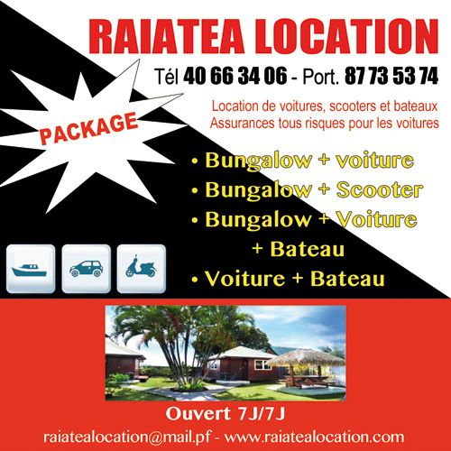 Raiatea Location